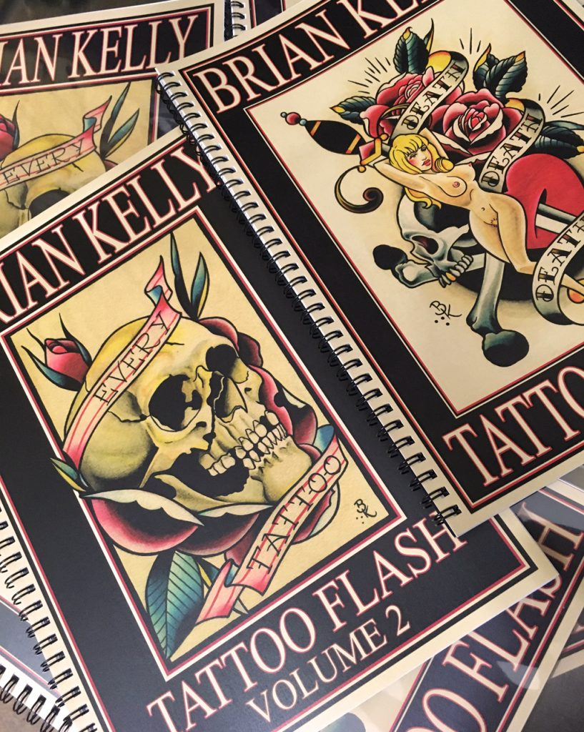 tattoo flash, traditional tattoo, tattoo book, tattoo art, brian kelly army