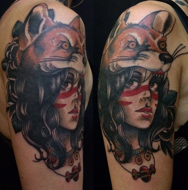 traditional tattoo, neotrad, neotraditional, new traditional, pinup, berlin