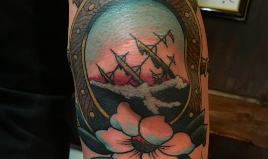 new traditional, neotraditonal, traditional, tattoo, tattoos, berlin, brian kelly, sailor's grave